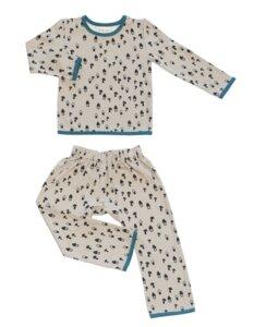 Kinder Schlafanzug Pilze - Pitupi
