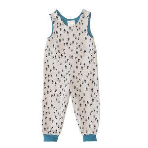 Baby Wendestrampler Pilze/Petrol - Pitupi