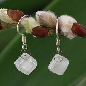 Ohrhänger aus Glas, verschiedene Farben - GLOBO