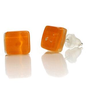 Ohrstecker aus Glas, verschiedene Farben - GLOBO