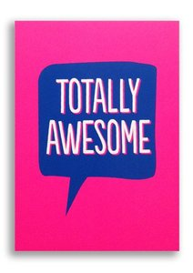 "Postkarte ""Totally Awesome"" - 1973"