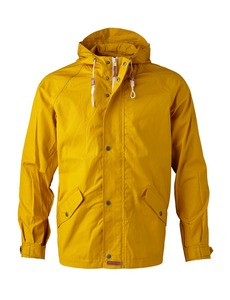 Waxed Canvas Light Jacket Lemon Curry - KnowledgeCotton Apparel
