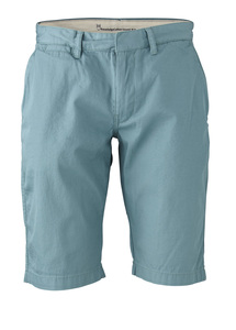 Twisted Twill Short brittany blue - KnowledgeCotton Apparel