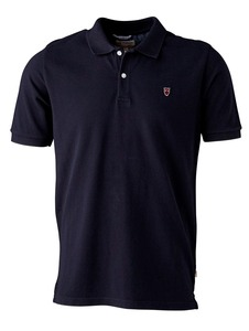 Pique Biobaumwoll Poloshirt blau - KnowledgeCotton Apparel