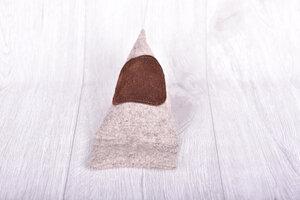 Stylischer Handysitzsack aus edlem Filz mit Leder !  - Süßstoff