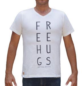 FREE HUGS T-shirt aus Biobaumwolle - ONO
