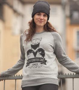 Otter Schotter Gang - Unisex Sweater - Heather Grey / Grey - päfjes