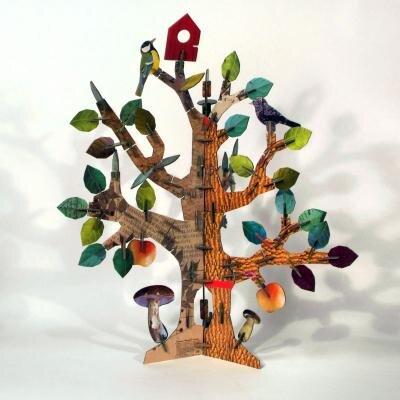 kidsonroof totem tree avocadostore. Black Bedroom Furniture Sets. Home Design Ideas