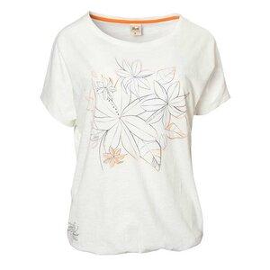 T-Shirt weiß mit floralem Druck - People Wear Organic