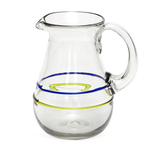 Glas-Krug aus Recyclingglas, mundgeblasen - GLOBO