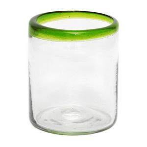 Trinkglas aus Recyclingglas, mundgeblasen - GLOBO