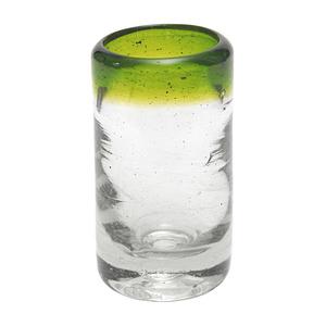 Tequilaglas aus Recyclingglas, mundgeblasen - GLOBO