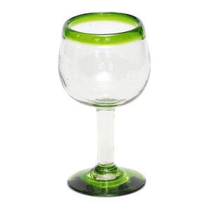 Weinglas aus Recyclingglas, mundgeblasen - GLOBO