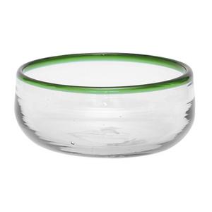 Schälchen aus Recyclingglas, mundgeblasen - GLOBO