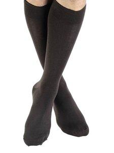 Damen Herren Strümpfe 5 Farben Bio-Baumwolle Socken längere bunt Höhe - Albero