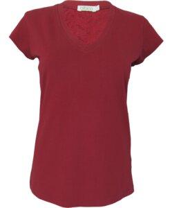 Shirt mit Spitze - bibico