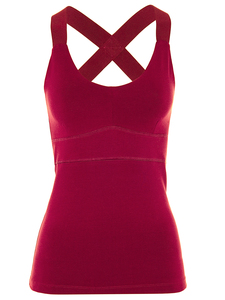 Extra Hold Tank - Rumba Red - Mandala