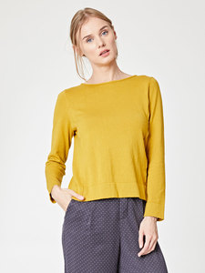 CORINNA SWEATER - GELB - Thought | Braintree