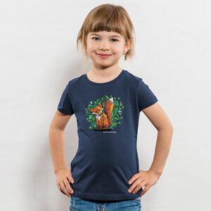 Julius Muschalek - Jede Nacht auf der Jagd - Girls Organic Cotton T‑Shirt - Nikkifaktur