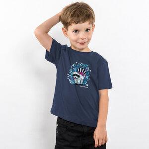 Julius Muschalek - König der Stadtmitte - Boys Organic Cotton T‑Shirt - Nikkifaktur