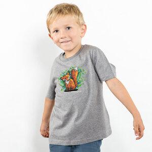 Julius Muschalek - Jede Nacht auf der Jagd - Boys Organic Cotton T‑Shirt - Nikkifaktur