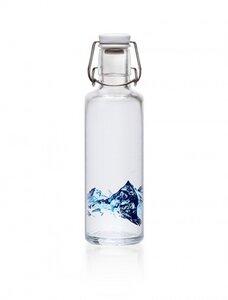 0,6L Soulbottle Glasflasche - Alpenblick - soulbottles