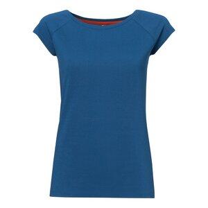 TT01 Cap Sleeve T-Shirt Damen Blau Bio & Fair - THOKKTHOKK