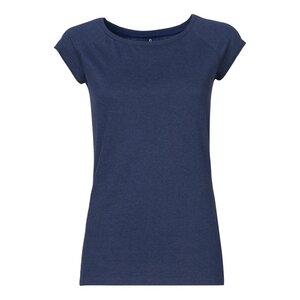 TT01 Cap Sleeve T-Shirt Damen Dunkelblau Bio & Fair - ThokkThokk