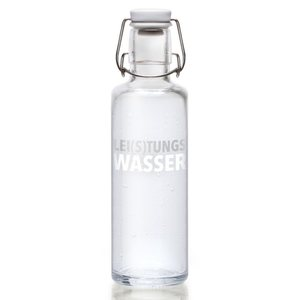 0,6L Soulbottle Glasflasche - Lei(s)tungswasser - soulbottles