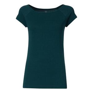 TT01 Cap Sleeve T-Shirt 2.0 Damen Petrol Bio & Fair - THOKKTHOKK
