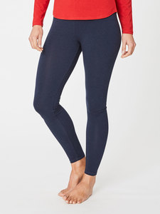 BAMBOO BASE LAYER LEGGINGS - Blau - Thought | Braintree