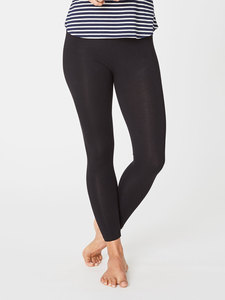 BAMBOO BASE LAYER LEGGINGS - Schwarz - Thought | Braintree