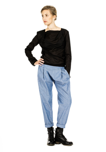 COSY II pants, light denim unisex - FORMAT