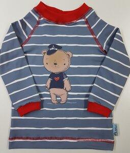Baby-/Kinder-Shirt/Longsleeve Käpt'n Seebär - Omilich