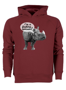 I'm a fucking unicorn! - Bio & Fairtrade Hoodie - What about Tee