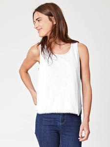 HELINA VEST TOP - White - Thought | Braintree