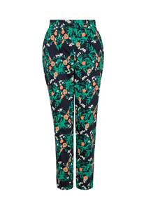 Claudia Marigold Print Trousers - People Tree