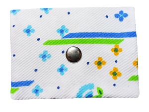 Mini Portemonnaie Fresh Air, Upcycling von Leesha - Leesha
