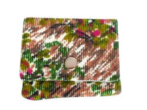 Leesha WILDe Upcycling Mini Portemonnaie Korallen Traum - Leesha