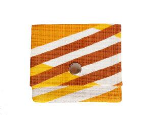 Leesha WILDe Upcycling Tampon Tasche Retro Sun - Leesha