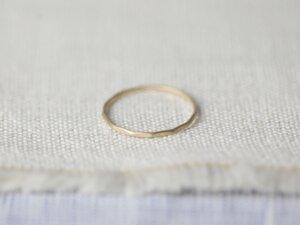 Vergoldeter Ring 'Juni' - pikfine
