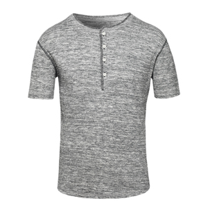 T-Shirt aus Rippstick - Stanley Flames - Sacred Designs