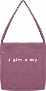 i give a hug recycling bag - WarglBlarg!