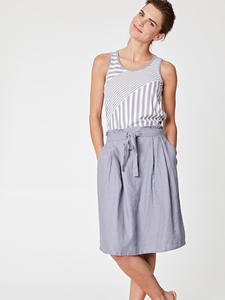 JAZMENIA SKIRT - Pebble Grey - Thought | Braintree