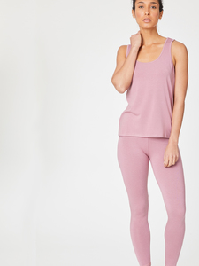 BAMBOO BASE LAYER LEGGINGS - Rose Pink - Thought | Braintree