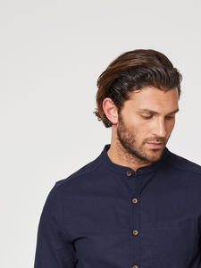 AVRO GRANDPA SHIRT - Navy - Thought | Braintree
