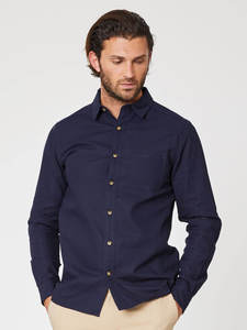 AVRO SHIRT - Navy - Thought | Braintree