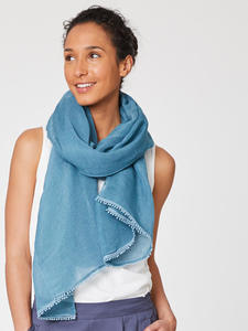 LEYA SCARF - Lagoon Blue - Thought | Braintree