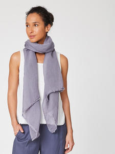 LEYA SCARF - Pebble Grey - Thought | Braintree