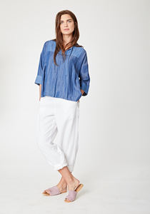 Jeans Bluse - MEENA TOP - Thought